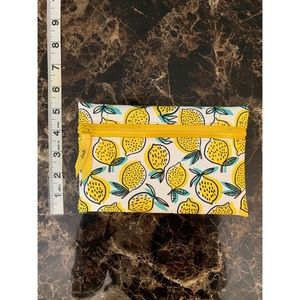 Lemon Pattern Ipsy Bag